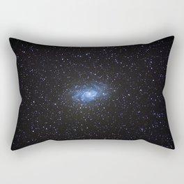 Triangulum Galaxy Rectangular Pillow