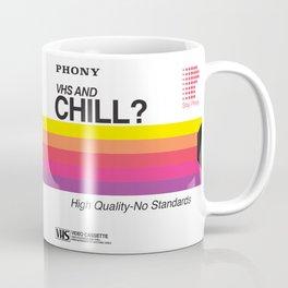 VHS and Chill Coffee Mug