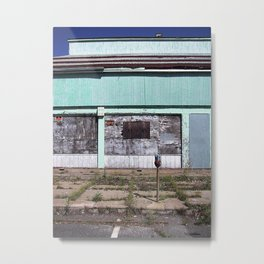 Keep Out, Asbury Park, New Jersey Metal Print