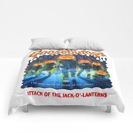 Goosebumps Attack of the Jack O'Lanterns Comforters