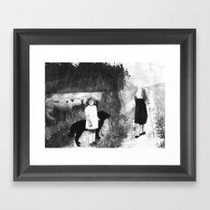 La petite bergère Framed Art Print
