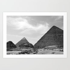 Angles of Age Art Print