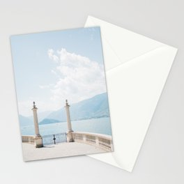 Summer at Bellagio | Italy travel photography | Bright art print Stationery Cards