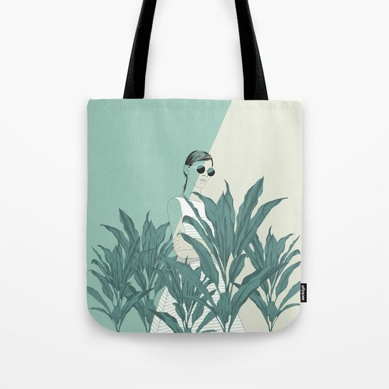 The Blue Nature Tote Bag