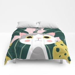 Jungle Cat Comforters