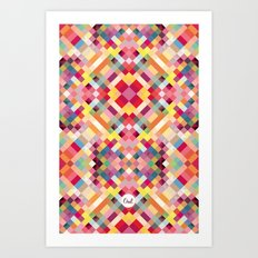 out square Art Print