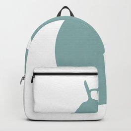 lemon fruit green color pastel| elegant Backpack
