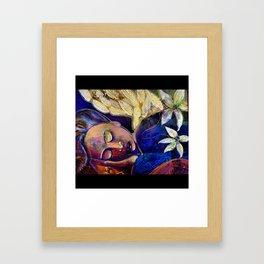 Dreaming of Angels Framed Art Print
