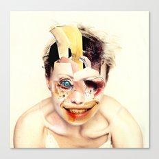 The Butcher  By Zabu Stewart Canvas Print