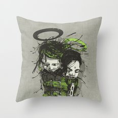 Big Sleep II. Throw Pillow
