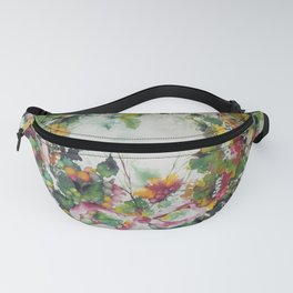 Flower Crown Fanny Pack