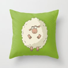 Giant Sheep Throw Pillow