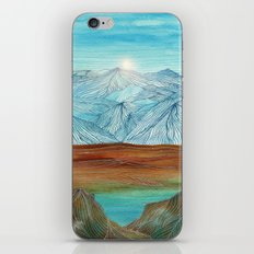 Lines in the mountains XI iPhone & iPod Skin