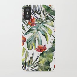 TROPICAL GARDEN 5 iPhone Case