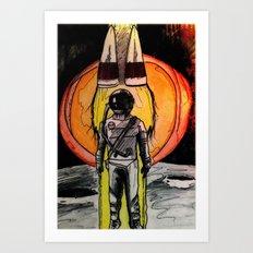 Space Deth Art Print