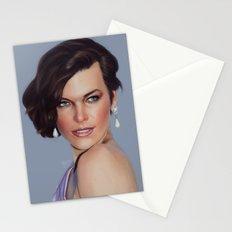 Milla Jovovich Stationery Cards