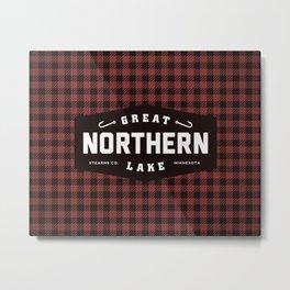 Great Northern Lake Metal Print