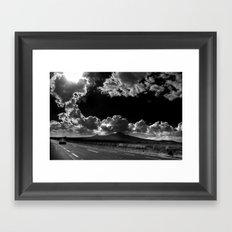 Noche de Día /Sunny Night Framed Art Print