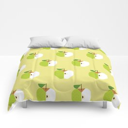Fruit: Apple Golden Delicious Comforters