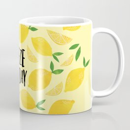 Squeeze the Day Coffee Mug
