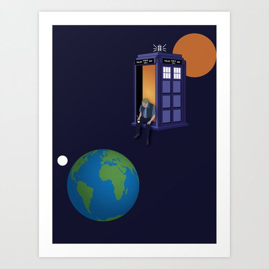 A WhoView Art Print