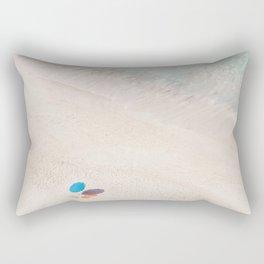 The Aqua Umbrella Rectangular Pillow