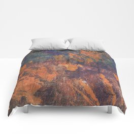 Fluorite Canyon Comforters
