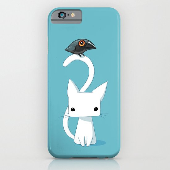 Cat and Raven iPhone & iPod Case