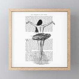 Ballerina Framed Mini Art Print