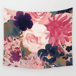 Mulberry Blooms Wall Tapestry