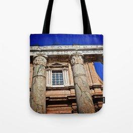 The Temple of Antonius & Faustina Tote Bag