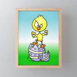 Easter Chick Framed Mini Art Print