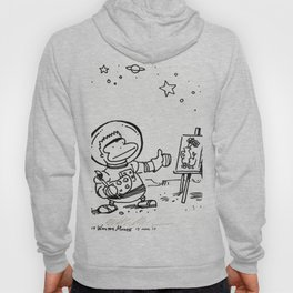 Space Ape Painting a Still Life Hoody
