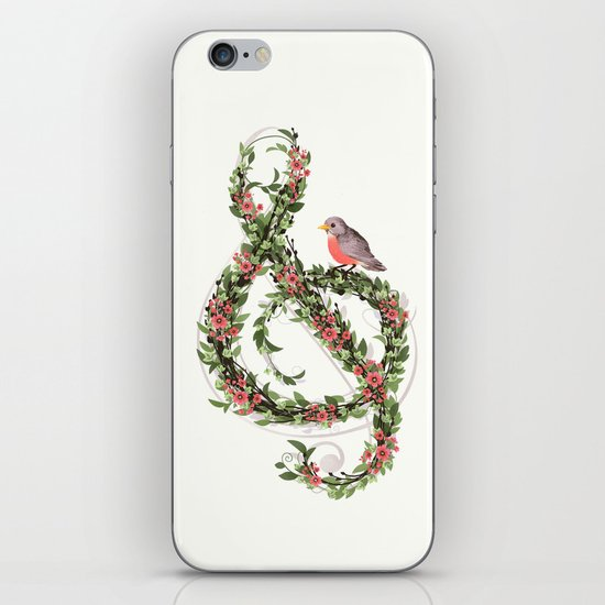 Robin's Song iPhone & iPod Skin