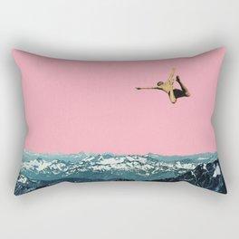 Higher Than Mountains Rectangular Pillow