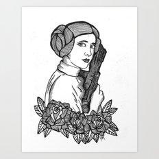 Ms. Leia Art Print