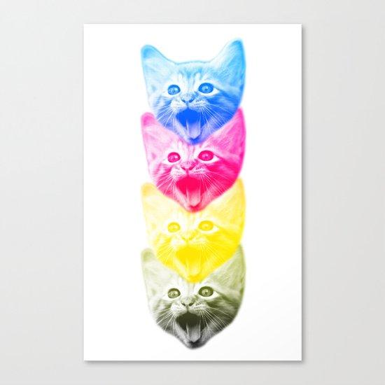 CMYKat Canvas Print