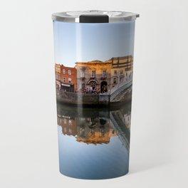 River Liffey Reflections Travel Mug
