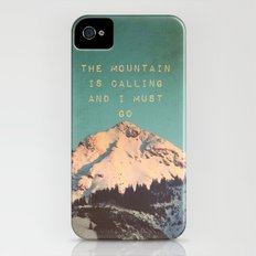 Mountain Is  Calling iPhone (4, 4s) Slim Case