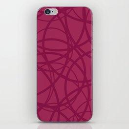 Raspberry Circus iPhone Skin