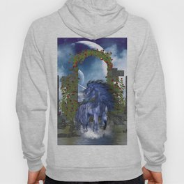 Blue Unicorn 2 Hoody