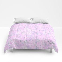 Flying Phallus Print Comforters