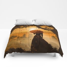 Romantic light Comforters