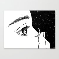 contact Canvas Prints featuring Contact by Henn Kim