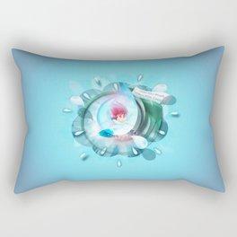 Count to 3 Rectangular Pillow