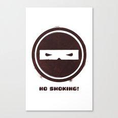 no smoking Canvas Print