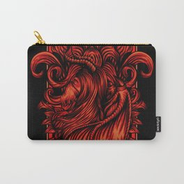 Red metal Carry-All Pouch