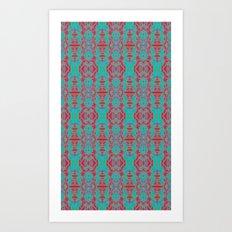 Glow Tapestry Art Print