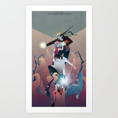Nothing but Death Art Print