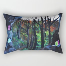 Crystal Cavern Rectangular Pillow